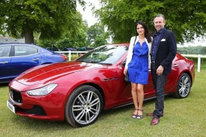 The doctor, arm candy, and the Maserati